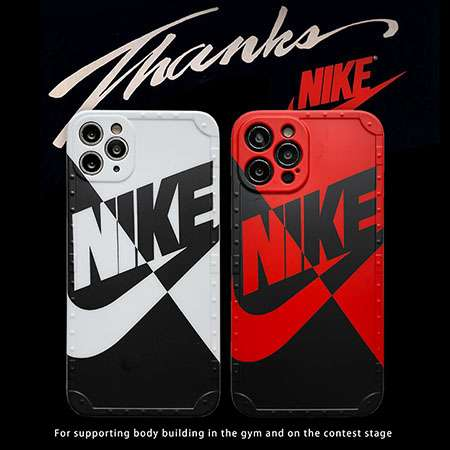 ロゴ付き 保護ケース nike アイフォン xs max