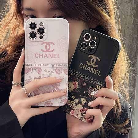 アイフォン 12 pro ケース 花柄 Chanel