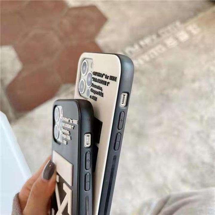 Off White アイフォン 12 ケース シリコン
