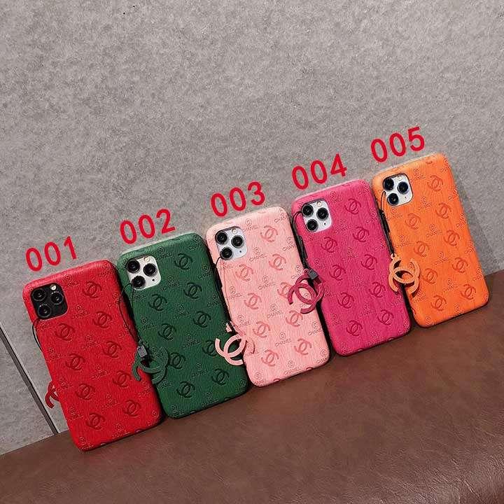 ChaneliPhone 12スマホケース極シンプル