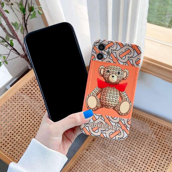 アイフォン 7 burberry シリコン カバー