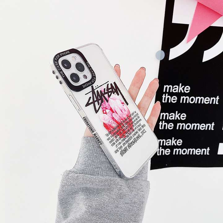 ステューシースマホケース流行りiphone8